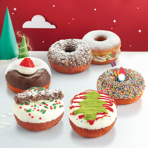 Delightful Christmas Donuts