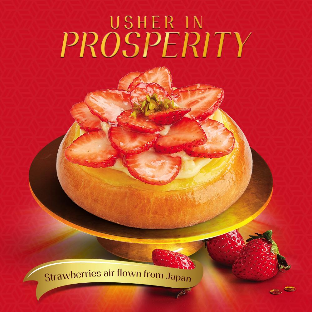 Usher In Prosperity 美满甜蜜,迎新年