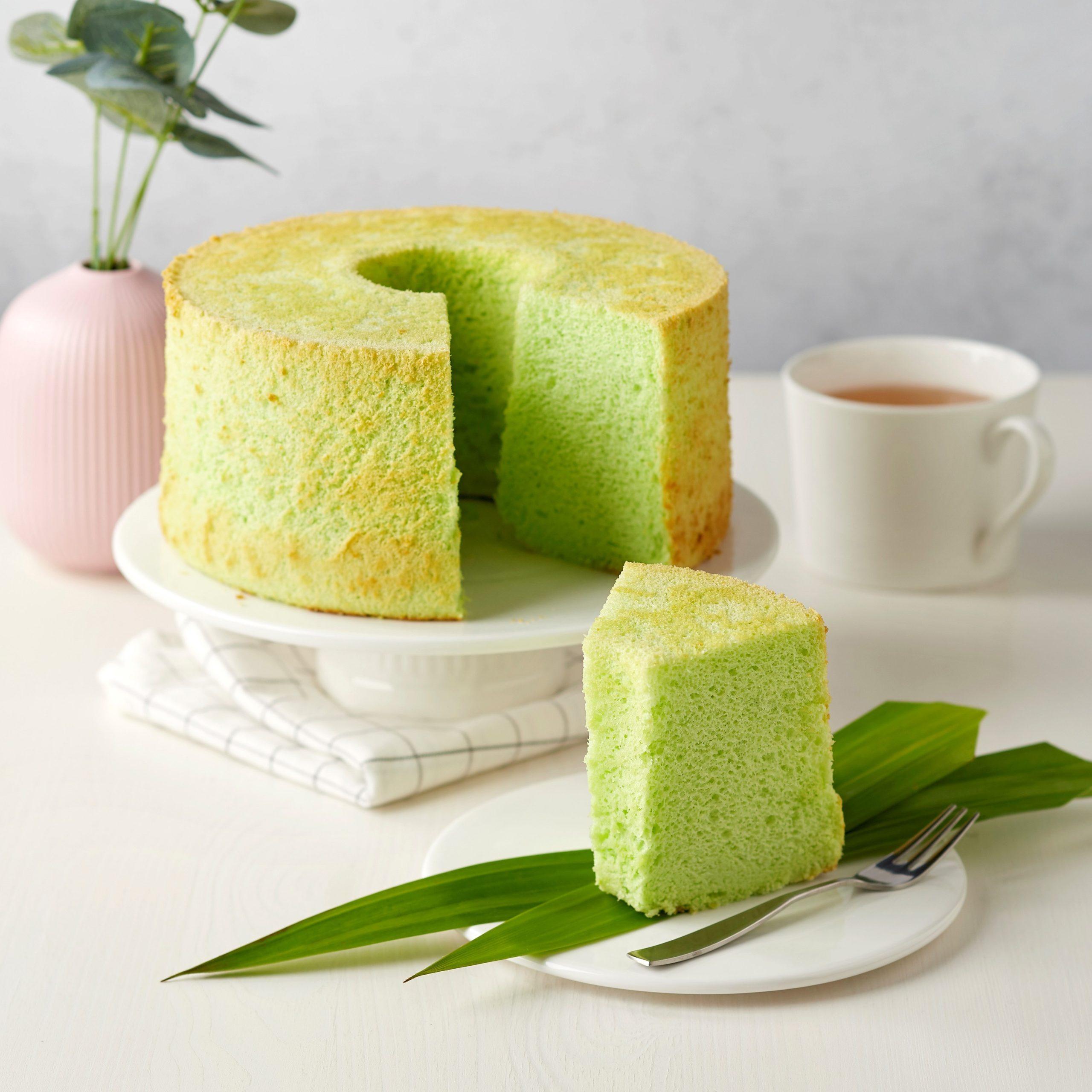 Pandan Chiffon Cake Breadtalk